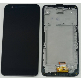 LCD DISPLAY + FRAME LG K10 2017 M250 M250N TOUCH SCREEN