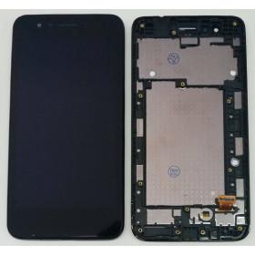 AFFICHEUR LCD pour LG K9 2018 LM-X210EM LMX210EM FRAME ECRAN TACTILE