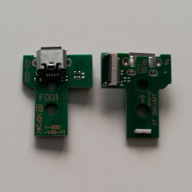 JDS-030 12pin PS4 card Micro USB charging port connector