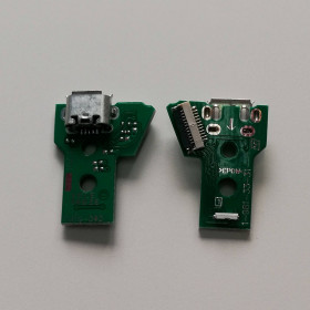 JDS-040 12pin PS4 card Micro USB charging port connector