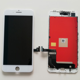 DISPLAY LCD VETRO TOUCH iPhone 8 PLUS BIANCO SCHERMO QUALITA INCELL
