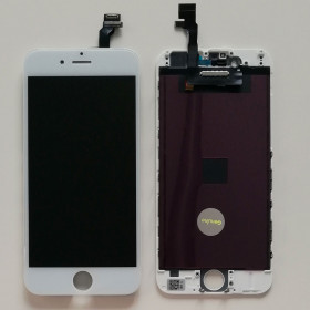 TOUCH GLASS LCD DISPLAY for Apple iPhone 6 WHITE HIGH QUALITY NCC FIT SCREEN