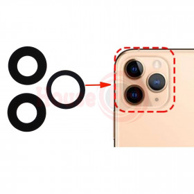 SLIDE GLASS LENS REAR CAMERA IPHONE 11 PRO LENS DOUBLE-SIDED CAMERA