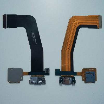 Cable de conector de carga plana flexible para la base USB Galaxy Tab S T800