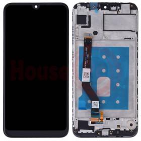 LCD DISPLAY + FRAME HUAWEI Y7 2019 BLACK DUB-LX1 LX2 L22 TOUCH SCREEN BLACK GLASS