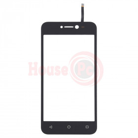 """TOUCH SCREEN GLASS FOR WIKO Y50 DIGITIZER 5 """"SLIDE BLACK"""