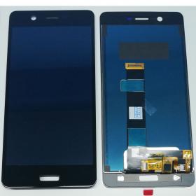 LCD FOR NOKIA N5 TA-1024 TA-1027 TA-1053 TOUCH SCREEN BLACK GLASS