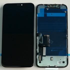 CADRE D'AFFICHAGE LCD POUR APPLE IPHONE 11 + SUPPORT D'ÉCRAN TACTILE ÉCRAN EN VERRE