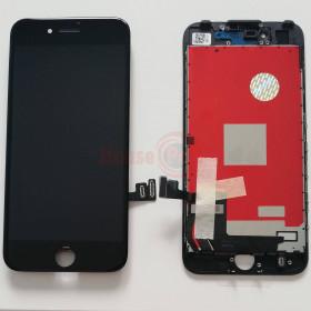 LCD-ANZEIGE + RAHMEN SCHWARZ NCC FIT FÜR APPLE IPHONE 7 PLUS TOUCH SCREEN GLASS