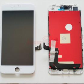 LCD-ANZEIGE + RAHMEN WEISS NCC PASSEND FÜR APPLE IPHONE 8 PLUS TOUCH SCREEN GLASS
