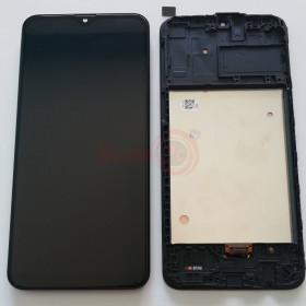 LCD-ANZEIGE + RAHMEN SCHWARZ OLED FÜR SAMSUNG A40 SM-A407F BERÜHRUNGSBILDSCHIRMGLAS