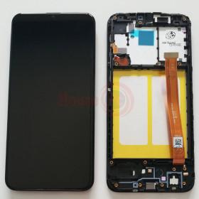 LCD-ANZEIGE + RAHMEN GLEICHES ORIGINAL FÜR GALAXY A20e A202F BERÜHRUNGSBILDSCHIRMGLAS