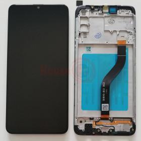 LCD-ANZEIGE + RAHMEN GLEICHES ORIGINAL FÜR GALAXY A21 A215F BERÜHRUNGSBILDSCHIRMGLAS