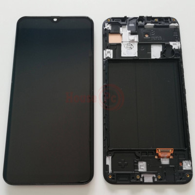 LCD DISPLAY + FRAME OLED BLACK FOR GALAXY A30 A305F TOUCH SCREEN GLASS SCREEN
