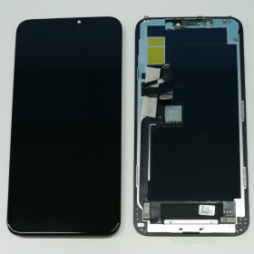 LCD DISPLAY + FRAME INCELL PER APPLE IPHONE 11 PRO MAX TOUCH SCREEN VETRO