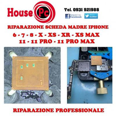 Riparazione Scheda madre iPhone X XS XS MAX XR 11 11PRO 11 PRO MAX