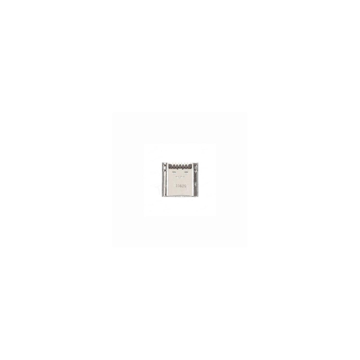 Base de carga de datos plana del conector de carga Samsung Galaxy Tab 3 T210