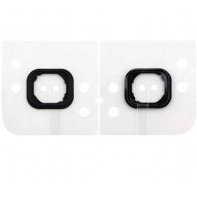 Bouton d'accueil en plastique en caoutchouc pour le bouton Iphone 6 - 6 PLUS
