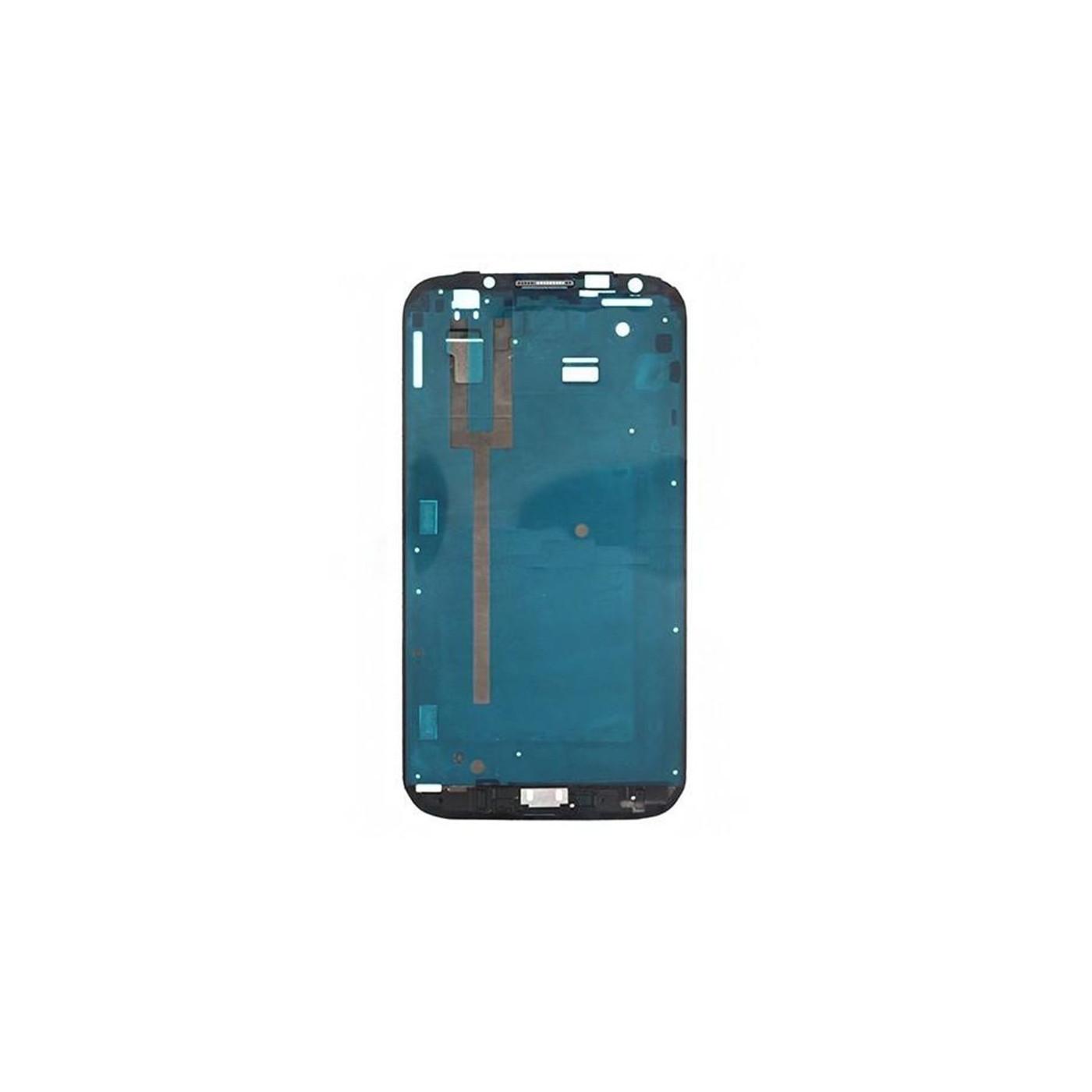 Rahmen Rahmen Körper Samsung Galaxy Note II N7100 Silber Center Frame